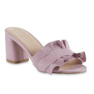 NWT Metaphor Women Lilac Bloch Heel